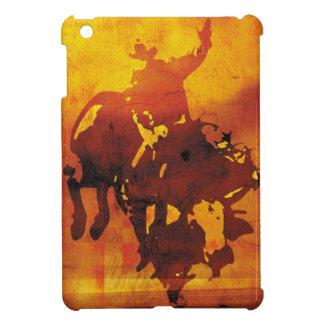 Mini caso del vaquero del toro del ipad de cobre d
