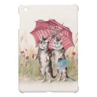 Mini caso del Victorian del iPad romántico del gat