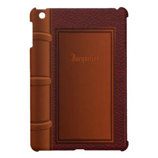 Mini caso del viejo iPad de cuero del libro iPad Mini Cobertura