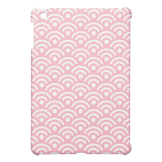 Mini caso geométrico de Ipad en rosa