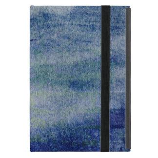 Mini caso w Kickstand del asfalto del iPad azul de iPad Mini Coberturas