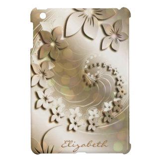 Mini casos del iPad floral de la moda 14