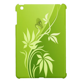 Mini casos del iPad floral de la moda 4