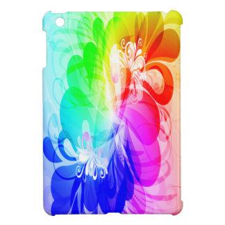 Mini casos del iPad floral de la moda 5