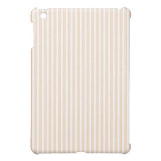 Mini casos del iPad protector - lino rayado