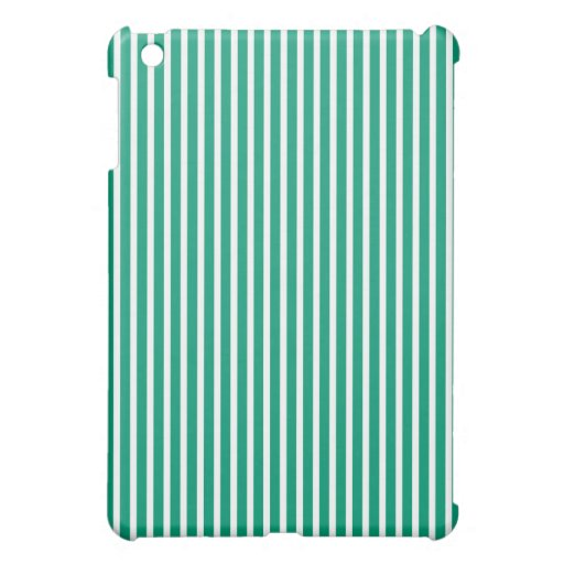 Mini casos del iPad protector - rayado verde