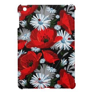 Mini casos del iPad retro de la flor iPad Mini Protectores