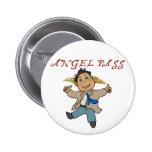 Mini Castiel Angel 2 Inch Round Button
