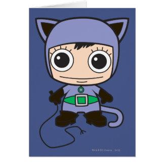 Mini Cat Woman Card