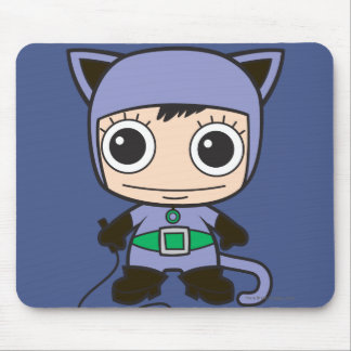 Mini Cat Woman Mouse Pad