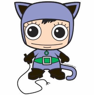 Mini Cat Woman Statuette