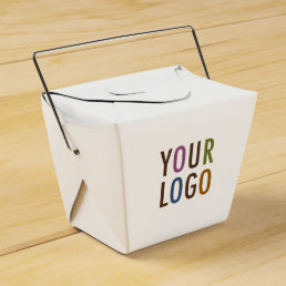 Mini Chinese Take Out Favor Box with Company Logo