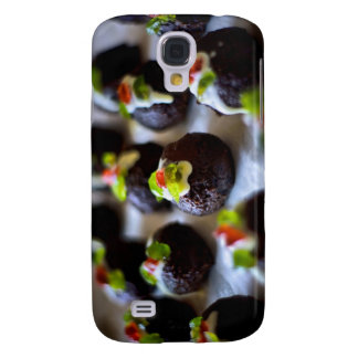 Mini Christmas Puddings Samsung Galaxy S4 Case
