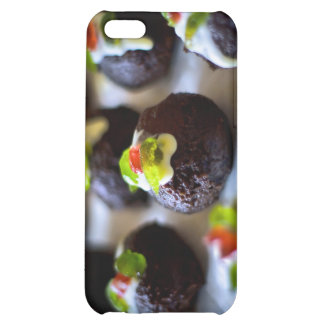 Mini Christmas Puddings Case For iPhone 5C