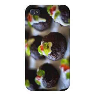 Mini Christmas Puddings iPhone 4/4S Case