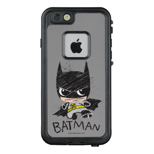 Mini Classic Batman Sketch LifeProof FRĒ iPhone 6/6s Case