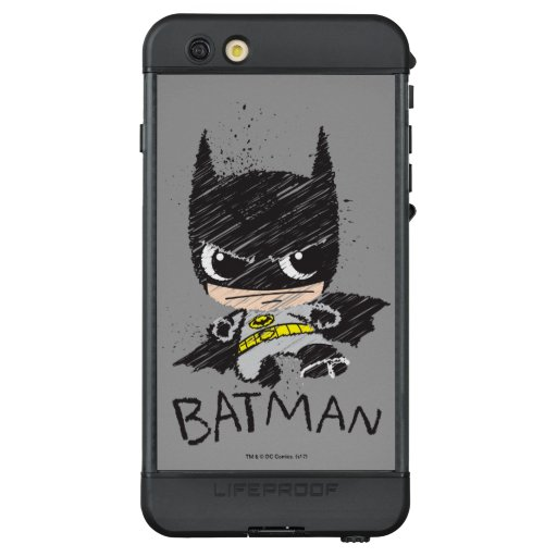 Mini Classic Batman Sketch LifeProof NÜÜD iPhone 6s Plus Case
