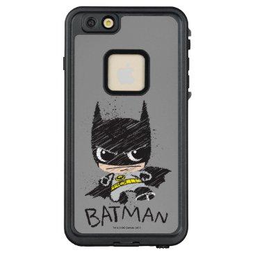 Mini Classic Batman Sketch LifeProof FRĒ iPhone 6/6s Plus Case