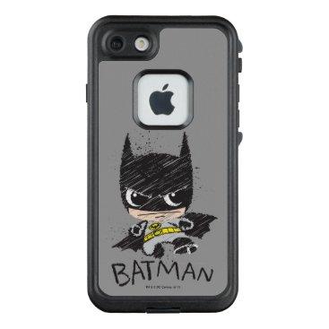 Mini Classic Batman Sketch LifeProof FRĒ iPhone 7 Case