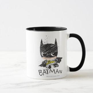 Mini Classic Batman Sketch Mug