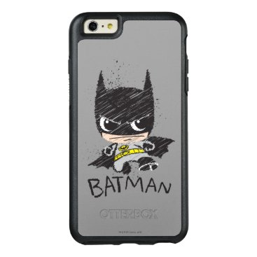 Mini Classic Batman Sketch OtterBox iPhone 6/6s Plus Case