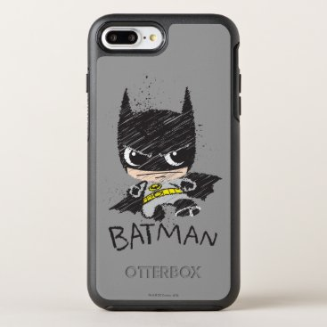 Mini Classic Batman Sketch OtterBox Symmetry iPhone 8 Plus/7 Plus Case