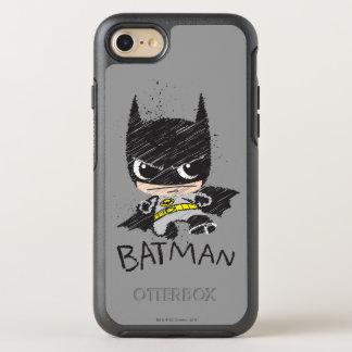 Mini Classic Batman Sketch OtterBox Symmetry iPhone 7 Case