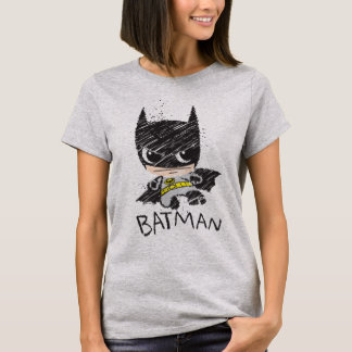 Mini Classic Batman Sketch T-Shirt