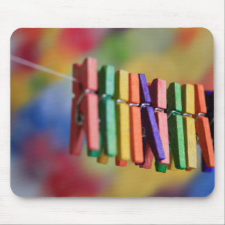 Mini Clothespins Mouse Pad