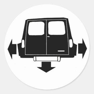 Mini Clubman Estate & Van Low and Wide Sticker