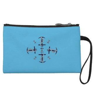 Mini Clutch Bag Nautical Blue