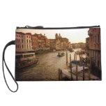 mini clutch-Venice Grand Canal Wristlet Purse