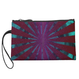 Mini Clutch with abstract sample