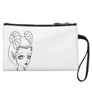 Mini Clutch with KISS ME Fairy Design