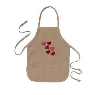 Mini cocinero delantal infantil