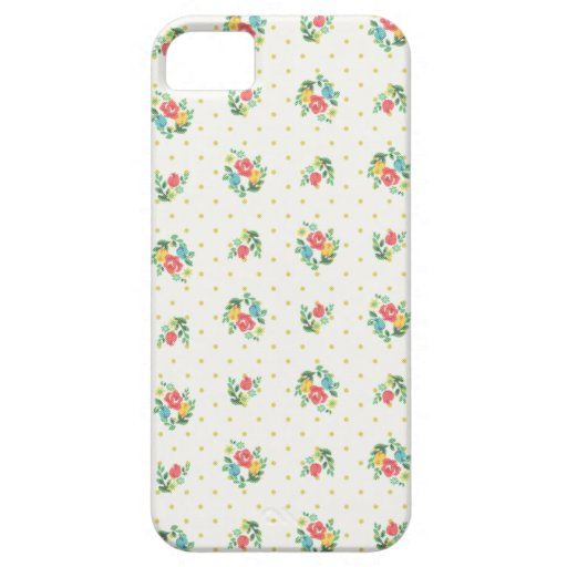 Mini color de rosa antiguo iPhone 5 Case-Mate cárcasa