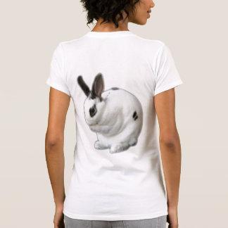 Mini conejo de conejito de rogación de Rex Camiseta