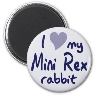 Mini conejo de Rex Imanes Para Frigoríficos