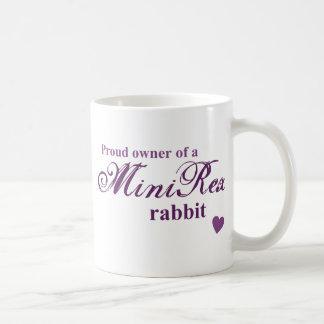 Mini conejo de Rex Taza De Café