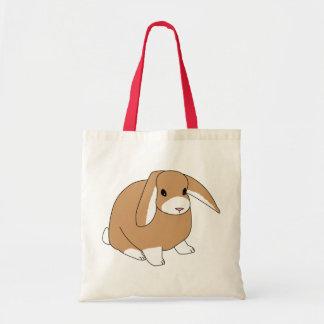Mini conejo del Lop Bolsa De Mano