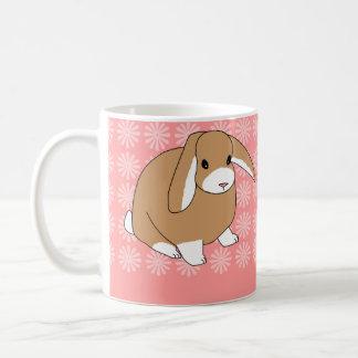 Mini conejo del Lop Taza