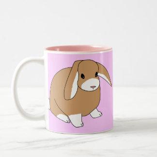 Mini conejo del Lop Taza De Café