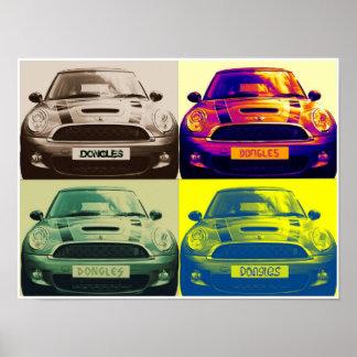 Mini Cooper collage (poster)