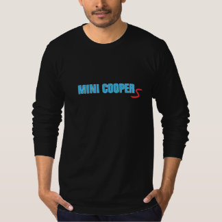 "Mini Cooper Electric Blue ""S"" T Shirt"