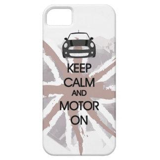 MINI Cooper Keep Calm and Motor iPhone Case