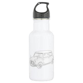 Mini Cooper 18oz Water Bottle