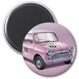 Mini Cooper S1 pink 2 Inch Round Magnet