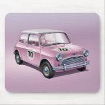 Mini Cooper S1 pink Mousepads