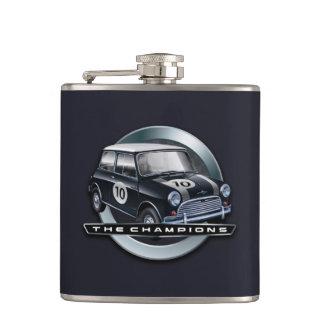 Mini Cooper S black Hip Flask