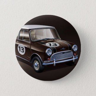 Mini Cooper S brown Button